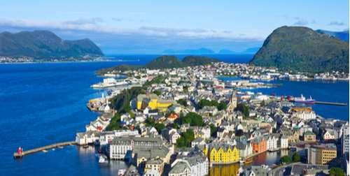 Cruise Noorse Steden fjorden