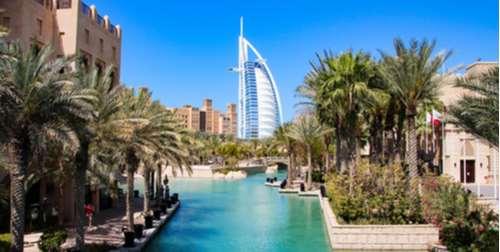 Grand Voyage van Italië naar Dubai per Transavia