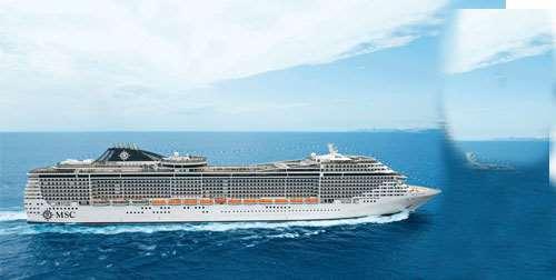 Cruise van Dubai naar Italië