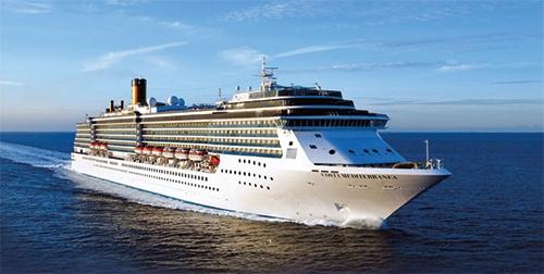 Cruise van Nederland naar Italië (2019)
