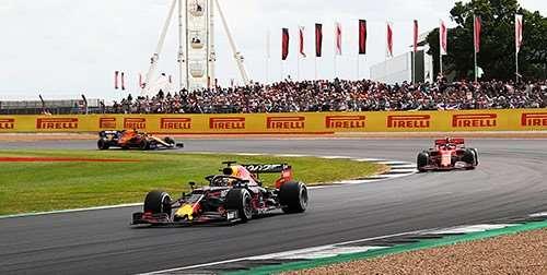4 of 5 daagse Formule 1 Grand Prix Engeland